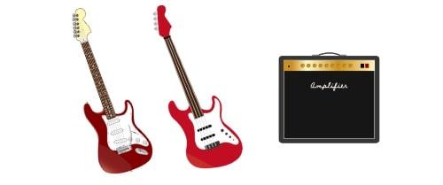 エレキギターやベース