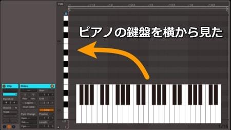 ピアノロール