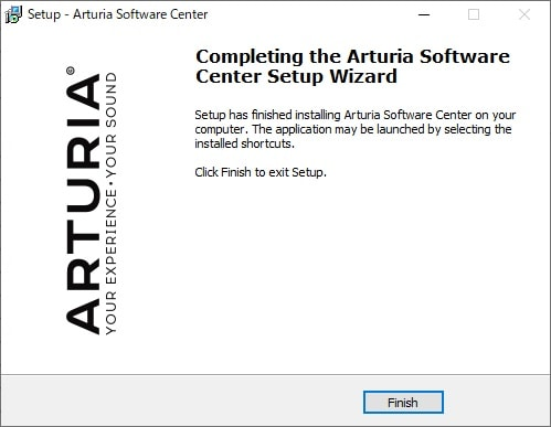 Arturia Software Center (ASC)をインストール