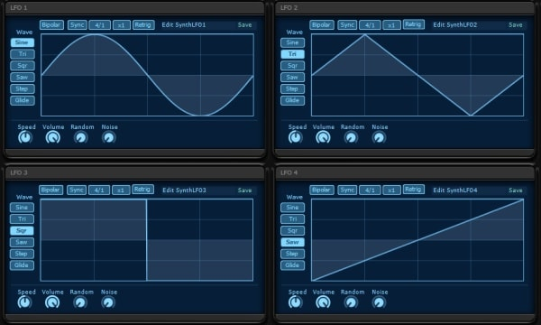 KV331 Audio Synthmaster V2.9 LFO