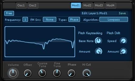 KV331 Audio Synthmaster V2.9 モジュレーションの使い方