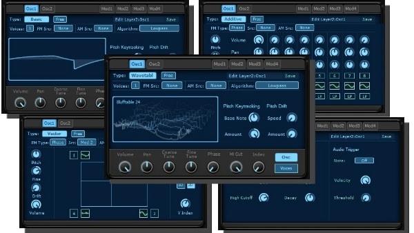KV331 Audio Synthmaster V2.9 幅広い音作りができる