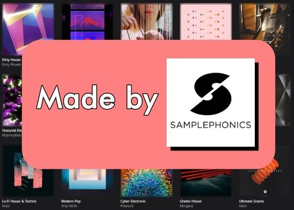 SamplePhonics以外のサンプル音源はない