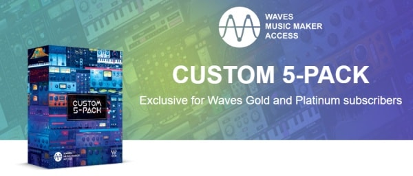 Waves Music Maker Access Custom 5 Pack