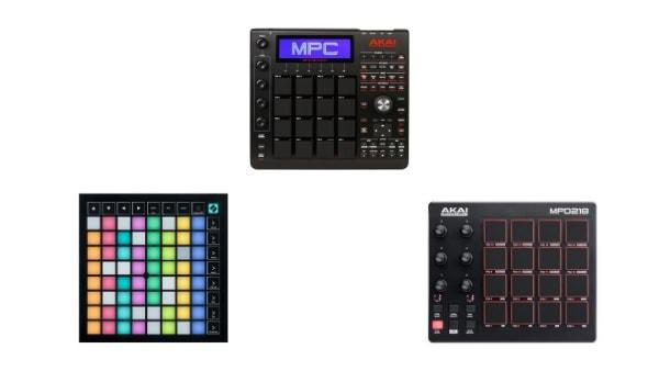 MIDIパッドコントローラー